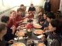 Pizza Essen mit dem Jugendorchester 2008