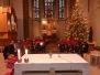 Weihnachtsgottesdienst & Jahresabschlussessen 2013