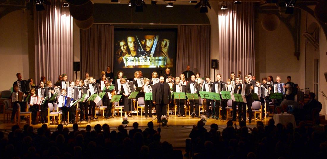 1. AOE Aktive beim Jubiläumskonzert 2013